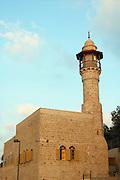 Israel, Tel Aviv - Jaffa, the El Baher mosque in old Jaffa August 2005