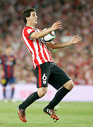 30.05.2015, Camp Nou, Barcelona, ESP, Copa del Rey, Athletic Club Bilbao vs FC Barcelona, Finale, im Bild Athletic de Bilbao's Mikel San Jose // during the final match of spanish king's cup between Athletic Club Bilbao and Barcelona FC at Camp Nou in Barcelona, Spain on 2015/05/30. EXPA Pictures © 2015, PhotoCredit: EXPA/ Alterphotos/ Acero<br /> <br /> *****ATTENTION - OUT of ESP, SUI*****