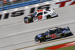 April 27, 2018 - Talladega, Alabama, United States of America - Ty Majeski (60) brings his race car down the front stretch during practice for the Spark Energy 300 at Talladega Superspeedway in Talladega, Alabama. (Credit Image: © Chris Owens Asp Inc/ASP via ZUMA Wire)