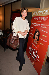 Kate Silverton at a private screening of Jackie hosted by Rosie Nixon and Tabitha Webb at the Bulgari Hotel, 171 Knightsbridge, London,  England. 12 January 2017.