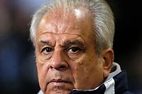Photo: Richard Lane.<br />Wales v Paraguay. International Friendly. 01/03/2006. <br />Paraguay coach, Anibal Ruiz.