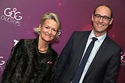 Nationalräte Andrea Gmür und Martin Candinas anlässlich der Glory-Verleihung 2018 am 12. Januar 2019 im Aura Club Zürich.