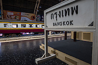 Bangkok Hualamphong Railway Station is the main railway station in Bangkok operated by the State Railway of Thailand.  Hua Lamphong is the informal name of the station, used by both foreign travelers and locals in Bangkok. The station began service in 1916 and was built in an Italian Neo-Renaissance style, with decorated roofs and stained glass windows. The architecture is attributed to Turin born Mario Tamagno, who was also responsible for the design of several other early 20th century public buildings in Bangkok. Hualamphong serves over 130 trains and approximately 60,000 passengers each day. The station is also the terminus of the Eastern & Oriental Express, a  luxury cruise train.