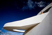Brasilia_DF, Brasil...Museu Nacional de Brasilia, conhecido tambem como Museu Nacional Honestino Guimaraes, localizado na Esplanada dos Ministerios. ..Museu Nacional de Brasilia or Museu Nacional Honestino Guimaraes, located in the Esplanada dos Ministerios...Foto: JOAO MARCOS ROSA / NITRO