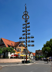 The Maibaum in Langenargen, Germany. Photo: Chris Davies/WMRT