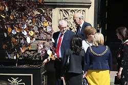 © Licensed to London News Pictures. 22/05/2018. Manchester, UK. Picture shows Nicola Sturgeon at the memorial service at Manchester cathedral. Today marks the first anniversary of the Manchester Arena bombing. 22 people died when Salman Abedi detonated a bomb at an Ariana Grande concert. Photo credit: Andrew McCaren/LNP
