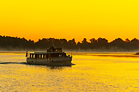 Sunrise on Bay Lake, Walt Disney World, Orlando, Florida USA