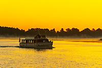 Sunrise on Bay Lake, Walt Disney World, Orlando, Florida USA