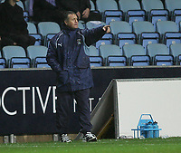 Photo: Lee Earle.<br /> Coventry City v Southend United. Coca Cola Championship. 30/12/2006. Coventry manager Micky Adams.