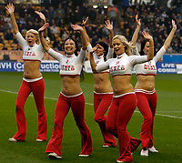 Photo: Ed Godden.<br />Wolverhampton Wanderers v Norwich City. Coca Cola Championship. 23/12/2006. The News of the world dancers provide some pre-match entertainment.