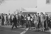 "1006-B039B-20 ""Conspiracy. March. Hoffman. Burn. February 21, 1970"" (Abbie Hoffman was convicted of conspiracy on February 18)"