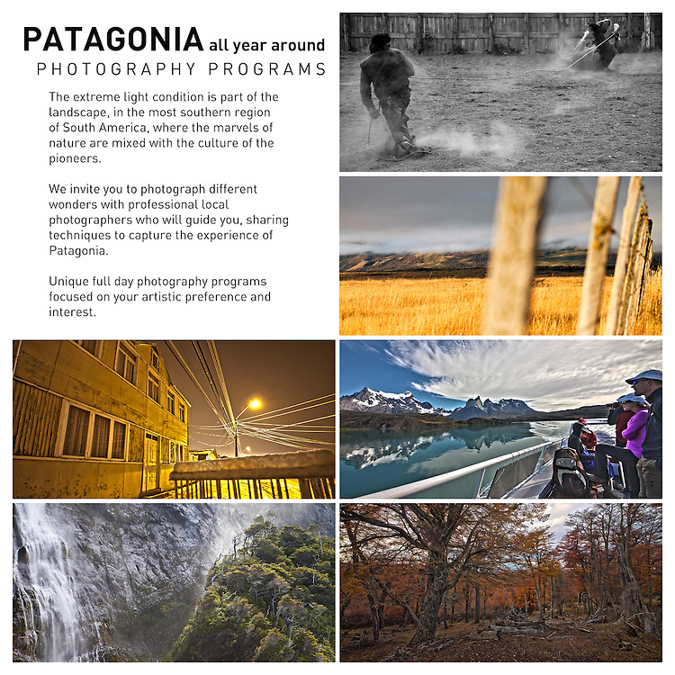 Patagonia Photography Expedicion, Photo Workshop