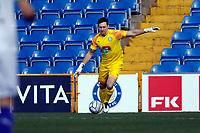 Ben Hinchliffe. Stockport County FC 2-0 Chesterfield FC. Vanarama National League. 27.2.21 Edgeley Park.