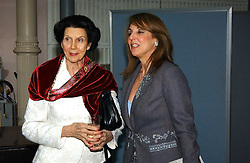 Left to right, DAME BERYL GREY and YVONNE SHERRINGTON who was recently involved in a high profile law case over her husbands Richard's will at The Critic's Circle National Dance Awards 2005 held at The Royal Opera House, Covent Garden on 19th January 2006.<br />
