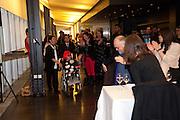 FRANCES MORRIS; YAYOI KUSAMA, Yayoi Kusama opening. Tate Modern. London. 7 February 2012