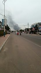 JINAN, June 5, 2017  Photo taken on June 5, 2017 shows the street scene nearby an explosion site in the Linyi Lingang Economic Development Zone, east China's Shandong Province. An explosion hit a petrochemical firm in Shandong Province Monday morning, casualties unknown, according to local authorities.   wx) (Credit Image: © Xinhua via ZUMA Wire)
