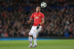 31st October 2017 - UEFA Champions League - Group A - Manchester United v SL Benfica - Anthony Martial of Man Utd - Photo: Simon Stacpoole / Offside.