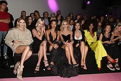 Elena Perminova, Caroline Vreeland, Chiara Ferragni attend the Alexandre Vauthier's2017/18Fall Winter Haute Couture collection show at Grand Palais in Paris, France on July 4, 2017. Photo by Laurent Zabulon/ABACAPRESS.COM