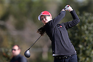 15 April 2016: Louisville's Ellen Kehoe. The First Round of the Atlantic Coast Conference's Womens Golf Tournament was held at Sedgefield Country Club in Greensboro, North Carolina.