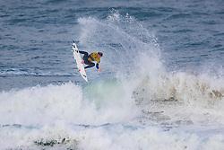 Leonardo Fioravanti (ITA) surfing in Qualifying Round Heat 2 of the WSL Redbull Airborne event in Hossegor, France.