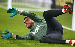 March 5, 2018 - London, United Kingdom - Manchester United's Sergio Romero.during the Premiership League  match between Crystal Palace and Manchester United at Selhurst Park Stadium in London, England on 05 March 2018. (Credit Image: © Kieran Galvin/NurPhoto via ZUMA Press)