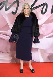 Brix Smith-Start attending The Fashion Awards 2016 at The Royal Albert Hall in London. <br /> <br /> Picture Credit Should Read: Doug Peters/ EMPICS Entertainment