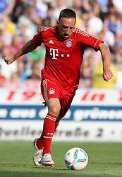 14.07.2011, Ernst-Abbe-Sportfeld, Jena, GER, Benefizspiel, Carl Zeis Jena vs FC Bayern im Bild ..Franck Ribery (Bayern München) .. //during the freindlc match between Carl Zeis Jena - FC Bayern 2011/07/14   EXPA Pictures © 2011, PhotoCredit: EXPA/ nph/  Hessland       ****** out of GER / CRO  / BEL ******