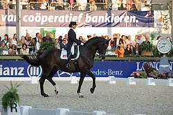 Gundersen Mikala Münter (DEN) - My Lady <br /> CDIO5 Grand Prix Freestyle <br /> CHIO Rotterdam 2014<br /> © Dirk Caremans
