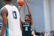 THOUSAND OAKS, CA Sunday, August 12, 2018 - Nike Basketball Academy. Joshua Christopher 2020 #16 of Mayfair HS shoots a free-throw. <br /> NOTE TO USER: Mandatory Copyright Notice: Photo by John Lopez / Nike
