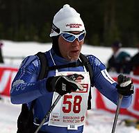 Langrenn ,Birkebeinerrennet   19 mars  2005 , Birkebeineren Skistadion  <br /> <br /> Brynjar Skjærli , Lillehammer Skikl