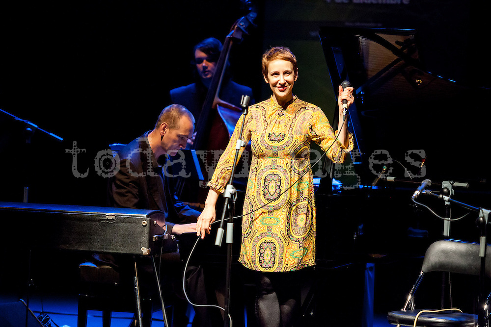 """Stacey Kent performing for the """"Jazz festival of Madrid"""""""