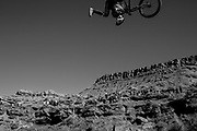 Red Bull Rampage 2017. The 2017 finalists pull out their best lines, tricks, and drops for the chance to be crowned the best freerider in all of mountain biking. The last jump just in front of the spectators is used to get the last vital points.