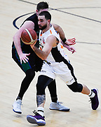 Taylor Hawks Ethan Rusbatch in action during a match against the Auckland Super City Rangers.<br /> Super City Rangers v Taylor Hawks, NBL NZ, Trusts Arena, Auckland, New Zealand. 7 July 2018. © Copyright Image: Marc Shannon / www.photosport.nz.
