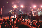 TAKE THAT performing for the TCT