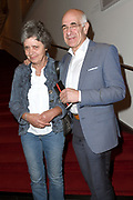 Feestelijke premiere van We Want More in het DeLaMar Theater, Amsterdam.<br /> <br /> Op de foto:  Frits Spits en partner