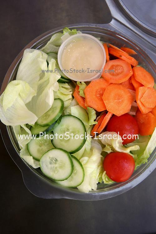 Salad Take away snack