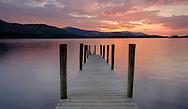 Derwentwater Sunset, Lake District, Cumbria, England