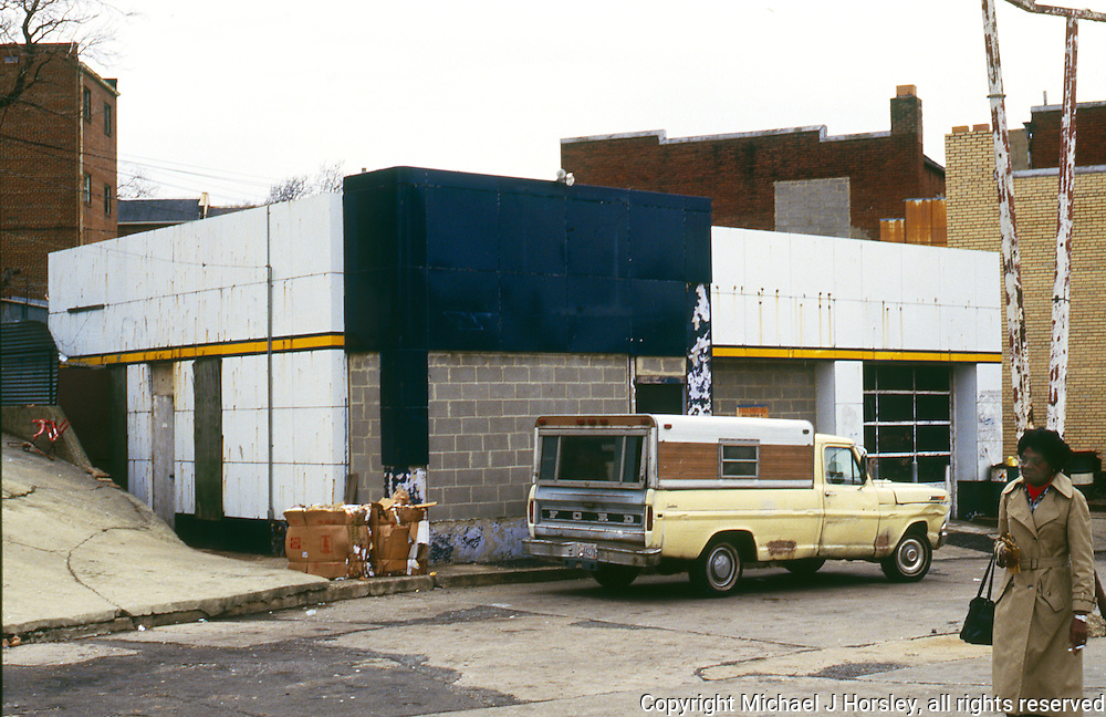 Bladensburg Road NE Washington DC, 1988