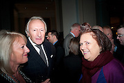 HAROLD TILLMAN; SUZY MENKES, Cecil Beaton private view. V and A Museum. London. 6 February 2012