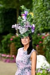 Jackie St Claire during day one of Royal Ascot at Ascot Racecourse