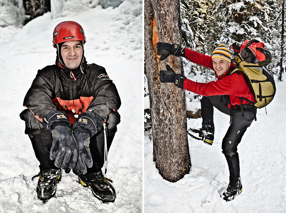 CANADIAN ICE CLIMBER | HYALITE CANYON | MONTANA