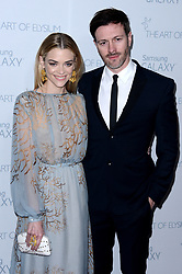 File photo dated January 10, 2015 of Jaime King and Kyle Newman attend The Art Of Elysium presents Marina Abramovic's HEAVEN at Hangar 8 in Los Angeles, CA, USA. Jaime King is getting a divorce from her husband of nearly 13 years, director Kyle Newman. According to People, the 41-year-old actor also filed a domestic violence prevention petition in Los Angeles on Monday. Photo by Lionel Hahn/ABACAPRESS.COM
