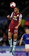 Ahmed Elmohamady of Aston Villa during the Premier League match at the King Power Stadium, Leicester. Picture date: 9th March 2020. Picture credit should read: Darren Staples/Sportimage