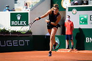 Aryna Sabalenka of Belarus during the first round of the Roland-Garros 2021, Grand Slam tennis tournament on May 30, 2021 at Roland-Garros stadium in Paris, France - Photo Rob Prange / Spain ProSportsImages / DPPI / ProSportsImages / DPPI