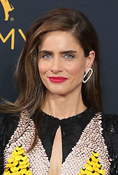 Amanda Peet arriving for The 68th Emmy Awards at the Microsoft Theater, LA Live, Los Angeles, 18th September 2016.
