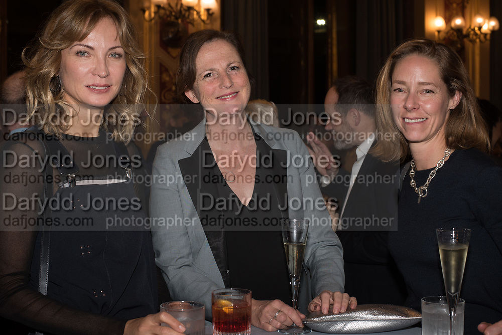 OKSANA KOLOMENSKAYA; MARGOT HELLER; AVERILL OGDEN, TenTen. The Government Art Collection/Outset Annual Award. Champagne reception to announce the inaugural artist Hurvin Anderson and unveil his 2018 print. Locarno Suite, Foreign and Commonwealth Office. SW1. 2 October 2018