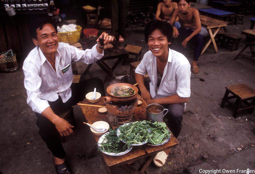 Streetfood in Cholon, Ho Chi Minh City, Vietnam