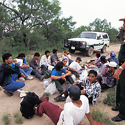 A large group of undocumented immigrants are caught near the US/Mexico border in Eagle Pass, Texas. Please contact Todd Bigelow directly with your licensing requests. PLEASE CONTACT TODD BIGELOW DIRECTLY WITH YOUR LICENSING REQUEST. THANK YOU!