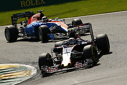August 28, 2016 - Spa Francorchamps, Belgium - Motorsports: FIA Formula One World Championship 2016, Grand Prix of Belgium, .#55 Carlos Sainz Junior (ESP, Scuderia Toro Rosso) (Credit Image: © Hoch Zwei via ZUMA Wire)
