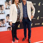 NL/Utrecht/20200927 - Filmpremiere I.M., Astrid Joosten en partner Rob Peters